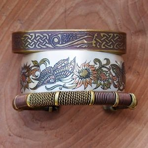 Cuff Bracelet Bundle! Copper/Brass Floral Tribal